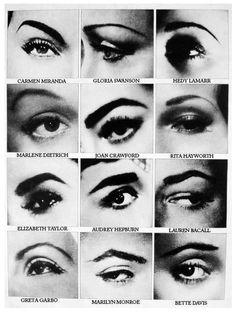 Classic Hollywood Eyebrows
