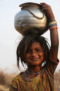 Beautiful little girl - India