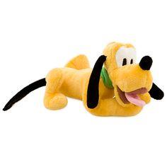 Pluto Plush - Mini Bean Bag - 9''   Disney Store
