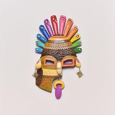 Aya Huma Mask - Ecuador