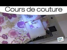 Machine à coudre - Faire une boutonnière - YouTube