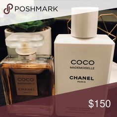 Coco Mademoiselle Chanel Paris Perfume Perfume sprayed 2 Times / Lotion never touched Accessories