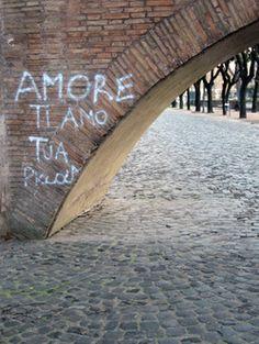 """AMORE ti amo tua piccola""  (LOVE I love you little one.) --- means so much!!"