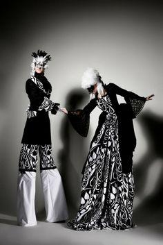 Gravity Stilt Walkers- Venetian Masked Entertainment