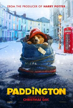Your favorite childhood story is coming to the big screen. Based on the classic children's book series by Michael Bond, Paddington is back in a new adventure your family will love. See Paddington the movie, in theaters Christmas Day 2014!