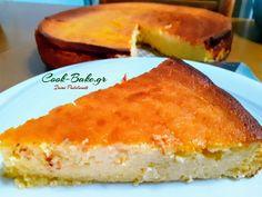 Cheesecake - Τσιζκέικ ψημένο χωρίς αλεύρι - Cook Bake Cornbread, Cheesecake, Baking, Ethnic Recipes, Food, Millet Bread, Cheesecakes, Bakken, Essen