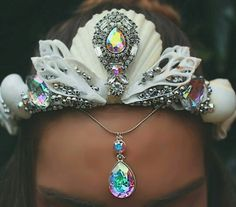 Swarovski crystal crown
