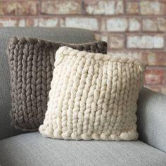 knitted cushions - Поиск в Google