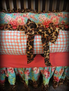 Baby Crib Bedding Ready to ship by Ziggetyzag on Etsy