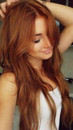 Piękny kolor włosów....