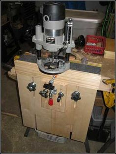 Yet another router jig for loose tenon mortises --- albeit a good looking design.