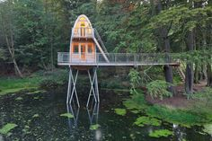 Treehouse Solling in Germany / by Baumraum