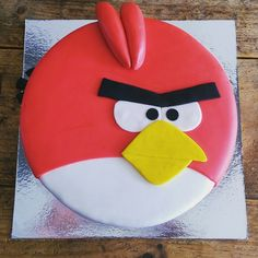 Angry Birds taart / Angry Birds Cake