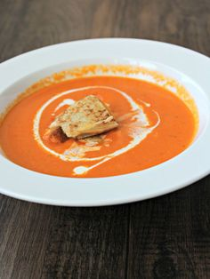 Home-Grown Roasted Tomato Soup