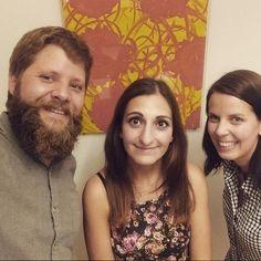 Google-Selfie. Im Wiener Büro. Mit unserer AdWords-Betreuerin Marianthi von Google Hamburg. Schön war's. Danke.