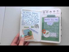 Documenting your trip in a Field Notes notebook! - YouTube