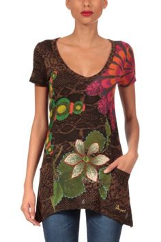 Desigual, one of my favorite designers!  Desigual Enteleckia Short T-Shirt