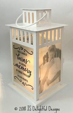 Excited to share this article from mine Business: Memorial Lantern, Wedding Lantern, Photo Lantern, Wedding Lanterns, Lanterns Decor, Lantern Crafts, Funeral, Photo Souvenir, Memory Crafts, Memorial Gifts, Memorial Ideas, Memorial Candles