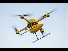 DHL Parcelcopter Drone Test flight