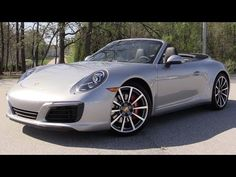 2017 Porsche 911 Carrera 4S Cabriolet - Start Up, Road Test & In Depth Review - YouTube
