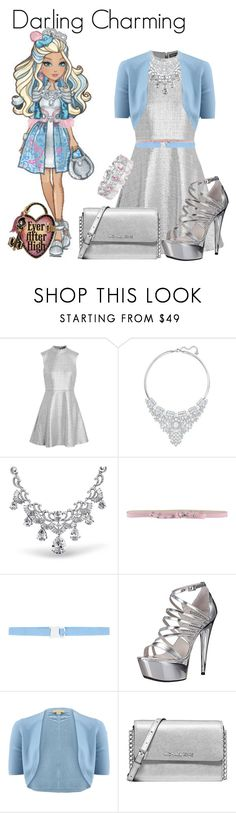 """""""Alphabet of Characters Challenge: 'D'"""" by cartoongirl ❤ liked on Polyvore featuring Markus Lupfer, Swarovski, Bling Jewelry, Blugirl Folies, Christopher Kane, Ellie Shoes, Michael Kors, Collette Z and AlphabetCharactersChallenge"""