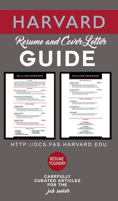 "TOP 5 RESUME MISTAKES:   1.   Spelling and grammar errors   2.   Missing email and phone information   3.   Using passive language instead of ""action"" words   4.   Not well organized, concise, or easy to skim   5.   Too long. Office of Career Services Harvard University 2015. For the William Edwards Resume Template go to Resume Foundry https://www.etsy.com/ca/listing/256491486"
