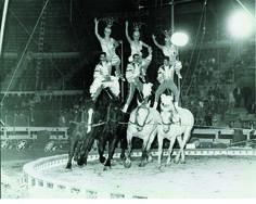 LOS ALBERTOS-ECUESTRES MEXICANOS CIRCO ATAYDE HNOS 1966-ARENA MÉXICO