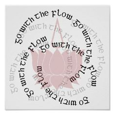 Be the buddha and lotus flower poster lotus flower buddha and lotus shop go with the flow lotus flower poster created by yogalife mightylinksfo