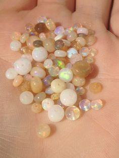 24CT Lot of Solid Ethiopian Opal Beads, Flashing Fire