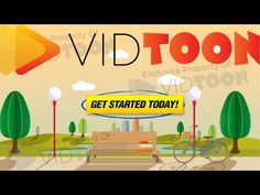 VidToon Commercial - YouTube Animated Video Maker, Get Started, The Creator, Commercial, Youtube, Youtubers, Youtube Movies