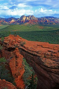 Devils Bridge at sunrise, near Sedona, AZ.