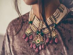 Delicate and enchanting baubles by @aaharya #delicate #enchanting #bauble #jewelry #designer #aaharya #fashion #style #trend