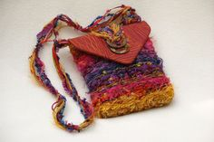 Santa Fe Sunset purse by Nancy Faris.