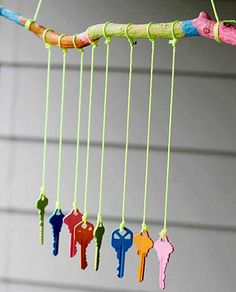 Just yesterday, my toddler was outside banging on the wind chime that we have hanging in our yard. He loves to find his shovel and knock the chimes together. He also loves to grab it by the butterfly string in the middle and throw it around. Kids love wind chimes because they awaken the senses.Continue Reading...