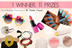 The Feminine Crusade | Beauty Blog, Makeup Reviews, Tutorials: 11 Prizes Birthday Giveaway