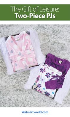 Cozy pajamas and robes are always excellent Christmas gift for adults and kids. Walmart has comfortable options in both trendy prints and solids.