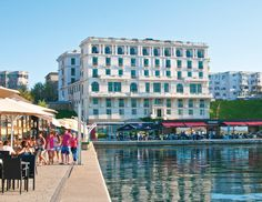 Black Sea, Palace, Coast, Street View, Architecture, City, Image, Arquitetura, Palaces