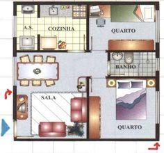 Projetos de casas simples
