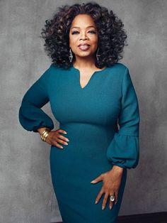 Oprah Winfrey Covers The Hollywood Reporter 2013 African Fashion Dresses, African Dress, Fashion Outfits, Womens Fashion, Oprah Winfrey, Curvy Fashion, Plus Size Fashion, Corporate Attire, Bodycon Dress