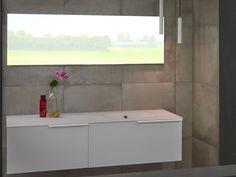 Badkamerlamp badkamerverlichting plafondlamp badkamershowroom - Ton Scholten