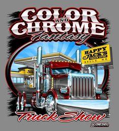 Big Rig Trucks, Semi Trucks, Truck Signs, Truck Art, Gas Pumps, Kustom, Airbrush, Rigs, Tattoo