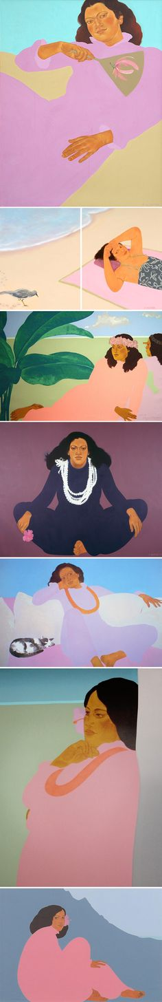 Pegge Hopper. She was born in California, and studied painting in Los Angeles. She lived Milan working as an illustrator for two years, and then moved to Honolulu in 1963