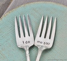 Vintage Wedding Cake Forks | 27 Ideas For Adorable And Unexpected Wedding Cakes
