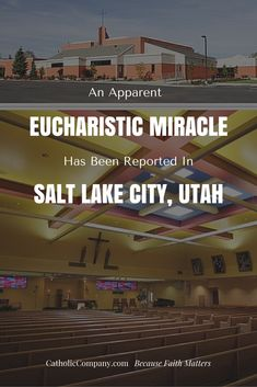 Possible Eucharistic Miracle reported at St. Francis Xavier Church in Kearns from Communion Host at Mass on November 8, 2015.