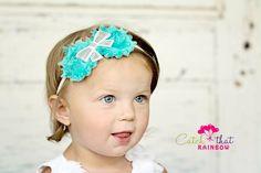 Christmas headband baby hairband Princess by catchthatrainbow