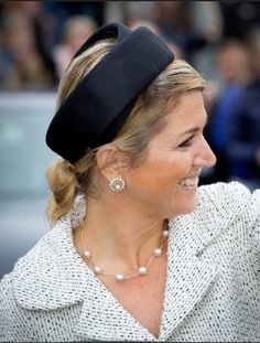 Queen Maxima of The Netherlands opens the Fioretticollege in Hillegom, The Netherlands, 29 May 2013