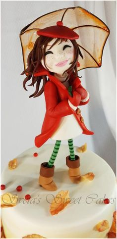 Marvelous Autumn Birthday Cake Cake by Sveta CakesDecor
