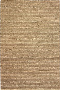 Banded Jute Area Rug