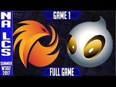 Phoenix1 vs Dignitas Game 1 | NA LCS Week 3 Day 2 summer Split 2017 | P1 vs DIG G1