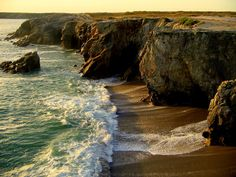 La Cote Sauvage in Quiberon, Brittany France